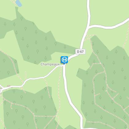 Avant hameau de Champeaux
