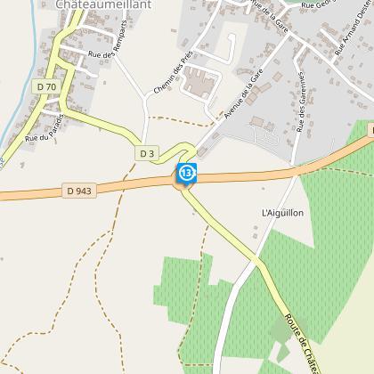 Rond point de la D943