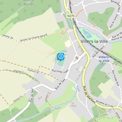 Terrain de football du R.C.Villers-la-Ville