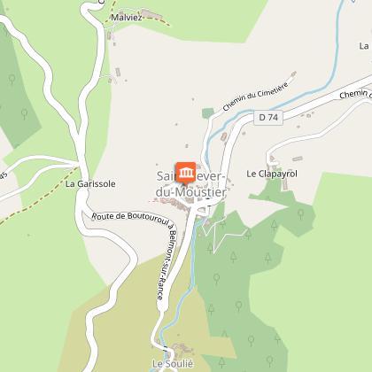 Village de St Sever du Moustier