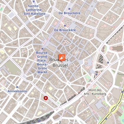 Bruxelles visite guidée du centre historique.