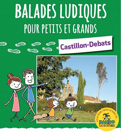 Castillon-Debats randoland en famille