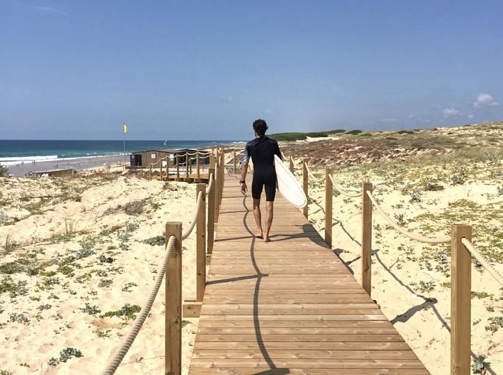 La balade sur la Dune à Seignosse le Penon