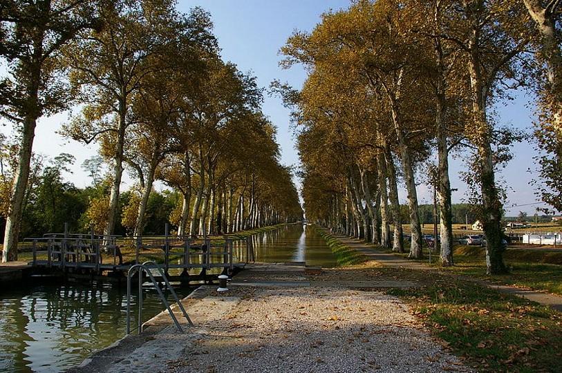 Canal de Garonne ou Canal des deux mers