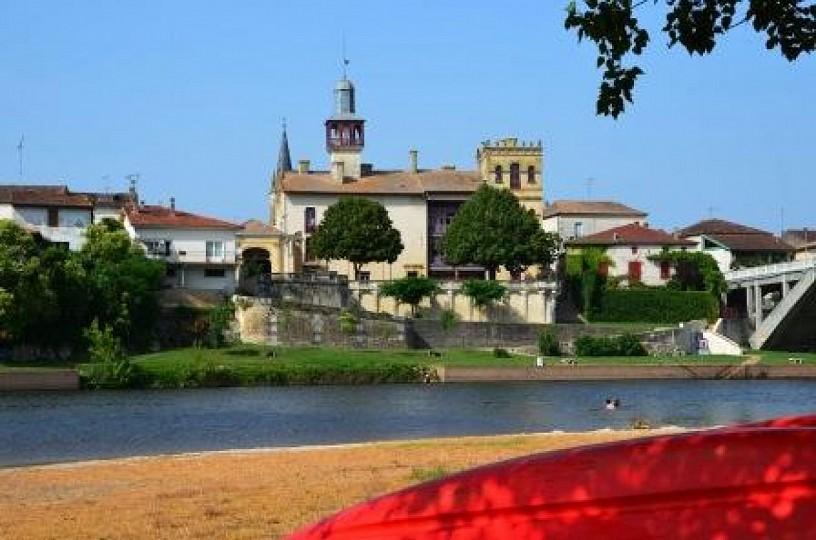 Castelmoron-sur-Lot, un port fluvial sur le Lot