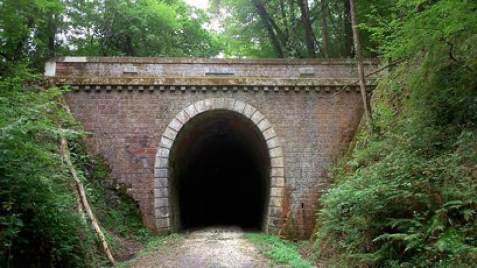 Boucle de l'ancienne voie ferrée