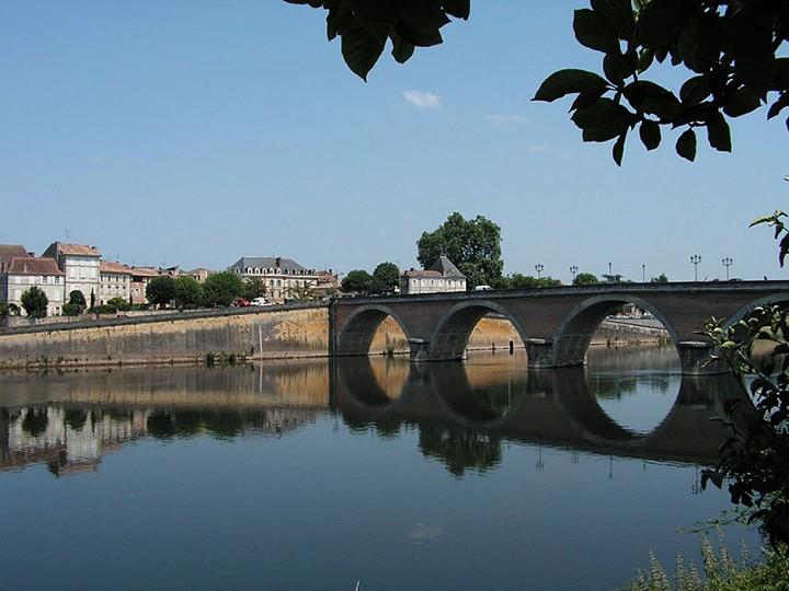 A Bergerac, la Boucle de la Madeleine
