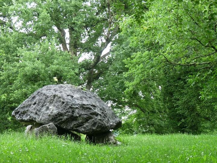 Le Tour du dolmen à Buzy en Vallée d'Ossau
