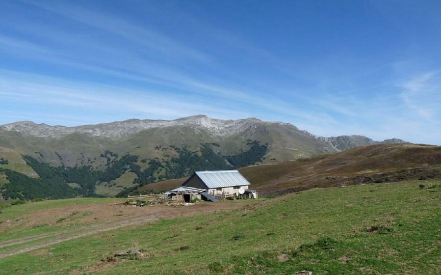 Les crêtes d'Andreyt au col d'Aubisque en Vall ...