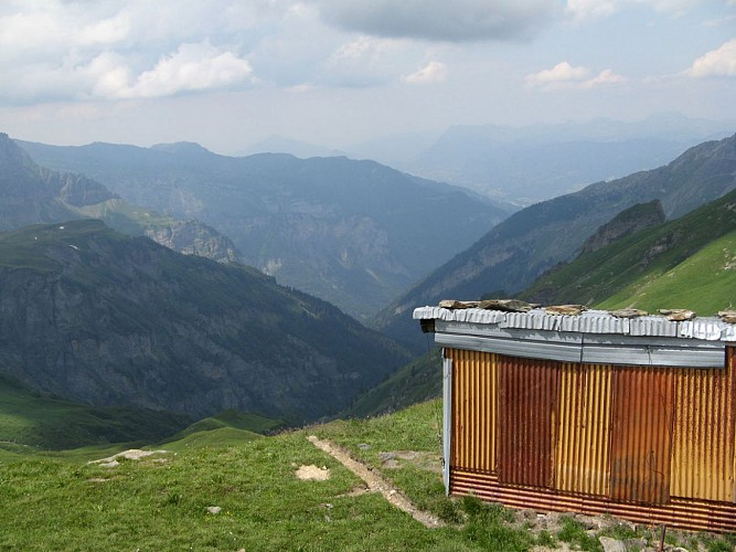 La cabane du Col des Chaux