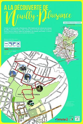 Sentier découverte de Neuilly-Plaisance