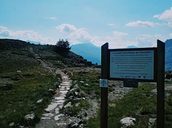 sentier géologique du chenaillet