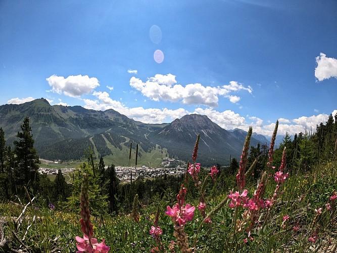 Balades et randonnées de Montgenèvre - Le Rocher Diseur