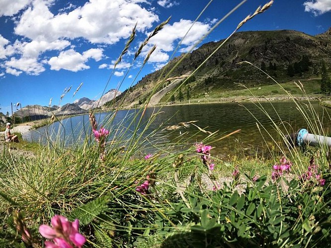 Balades et randonnées de Montgenèvre - Le lac des Anges