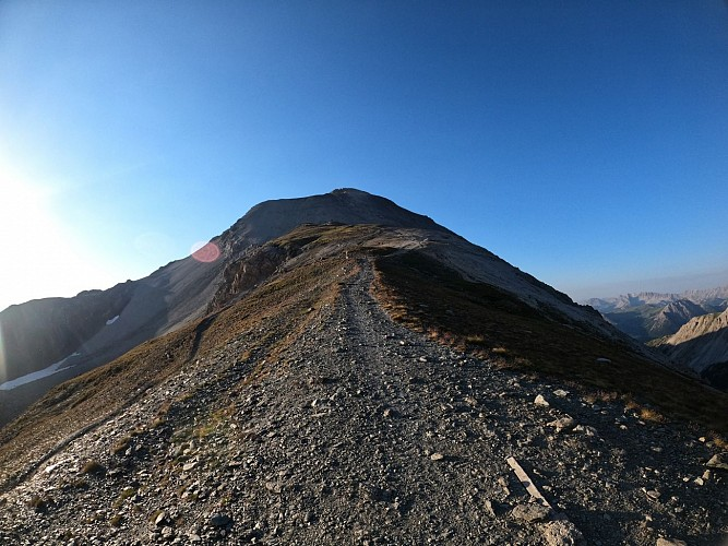 Balades et randonnées de Montgenèvre - Le Mont Chaberton