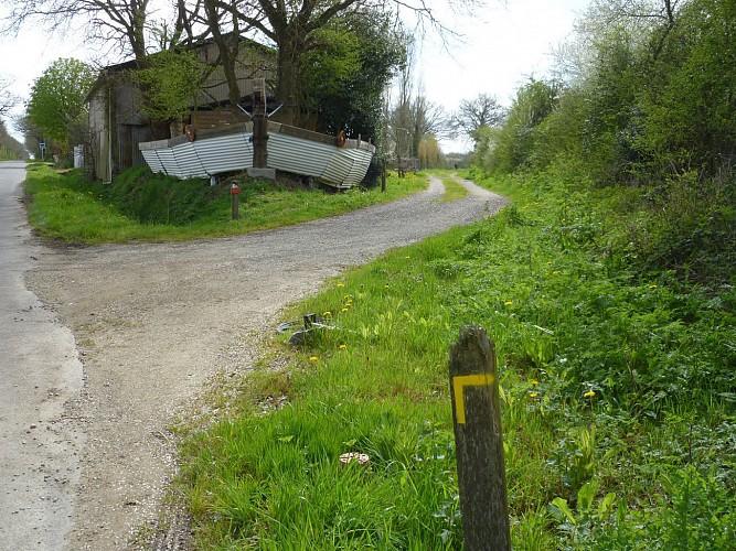 Sentier de la Flane des Fragonnettes Saint Christophe du Ligneron