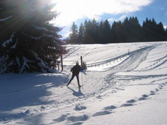 Itinéraire Nordique Col des Moises-Col du Feu