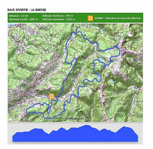 RAID 50km Tour de La Bresse