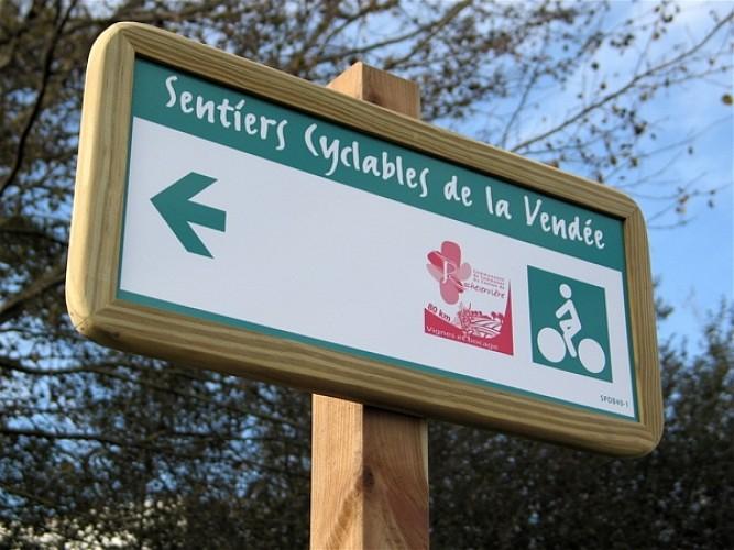 Itinéraire cyclable entre Rocheservière et Mormaison