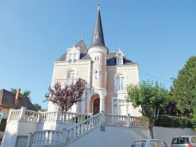 Néris-les-Bains, les villas Belle Epoque