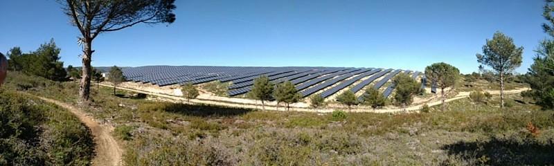champ photovoltaique
