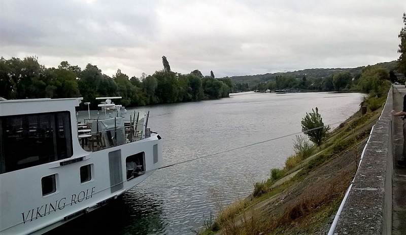 Bords de Seine au Port Marly
