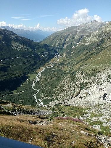 3 cols en Suisse : Grimsel - Furka - Sustenpass