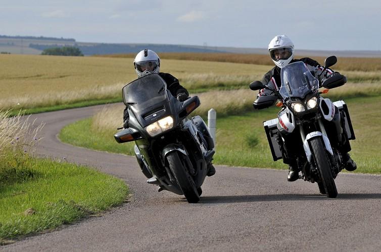 Virée à moto n°3:  Nogentais et plaine Champenoise