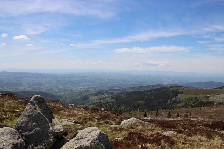 Panorama depuis Peyre-Mayou