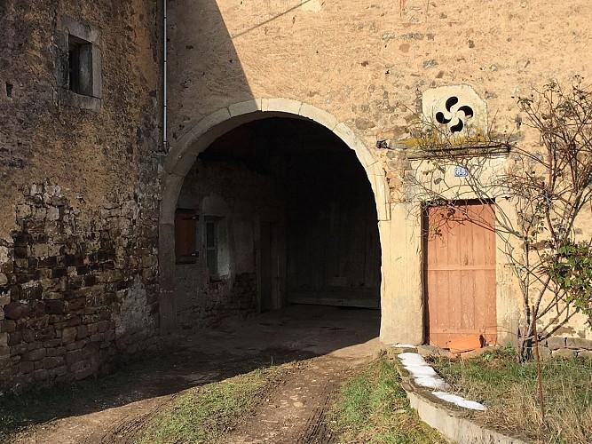 La plus vieille ferme d'Amerey