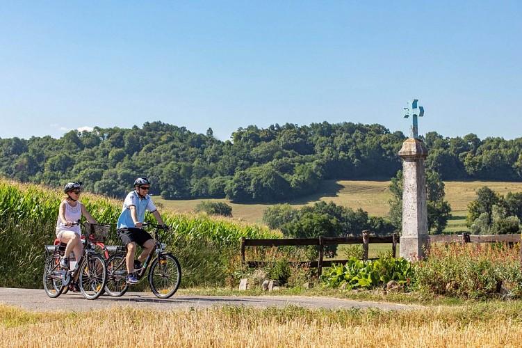 Cycle trip: Les 3 Saints and la Croix Bleue