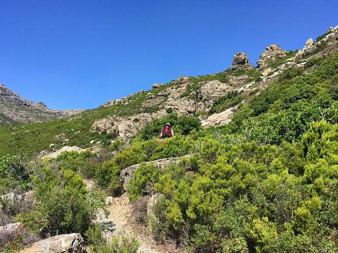 Cap Corse, Sentier des Crêtes, 1ère étape