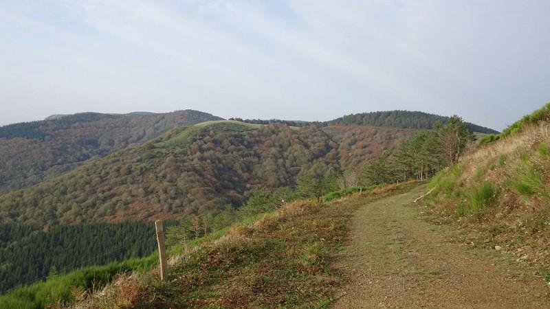 Col de Mouline et le Pioch vus de l'est