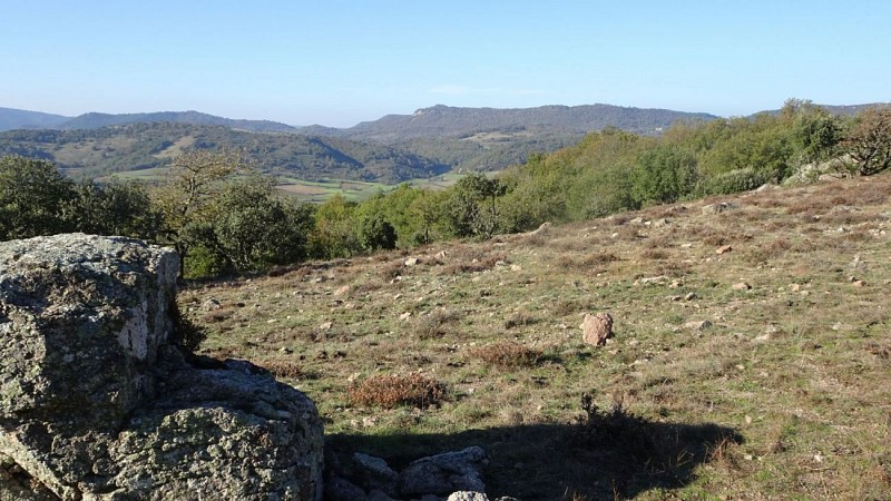 vue du Col du Buis vers Nord