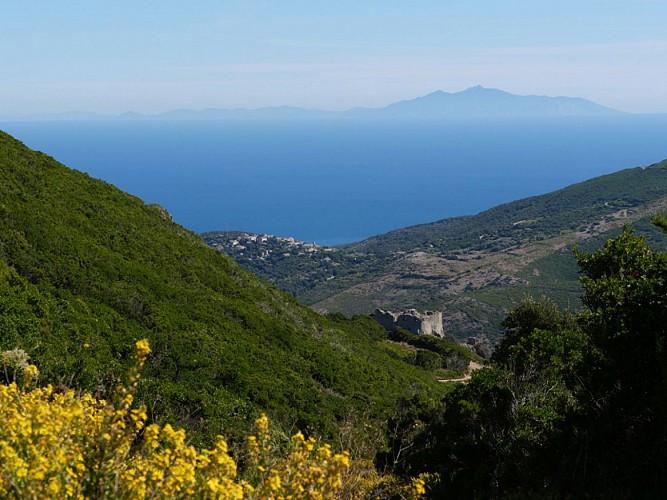 Cap Corse, Sentier des Crêtes, 3ème étape