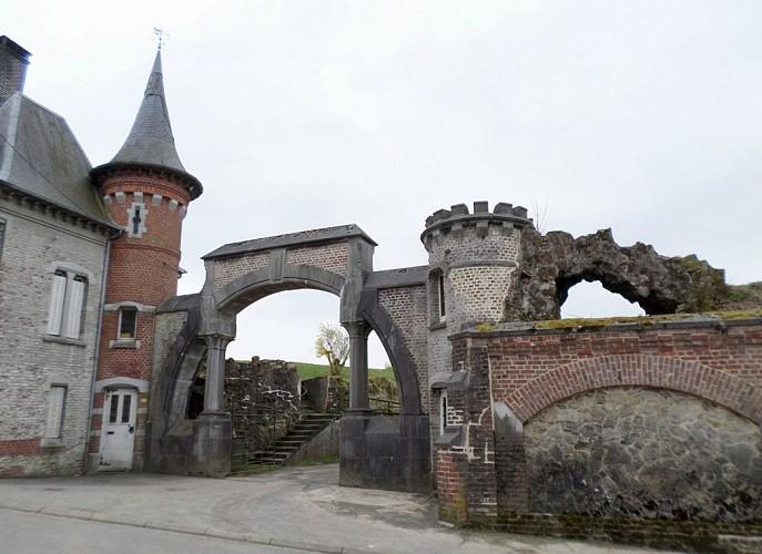 Wignehies sentier architecture