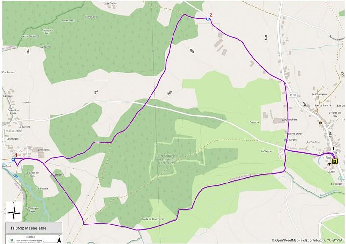 Masselebre (carte)