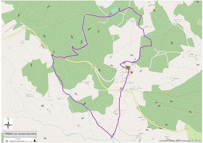 Les lèches beurriers (carte)