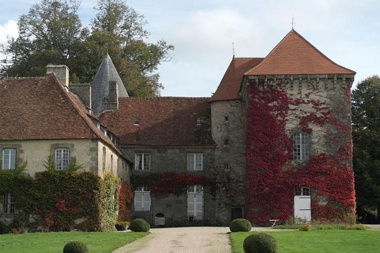 le chateau d' Arfeuille