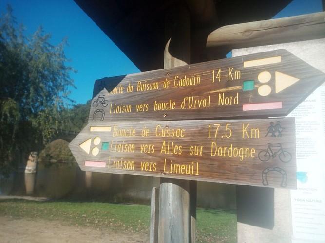 Le Buisson-de-Cadouin - Boucle de Cussac