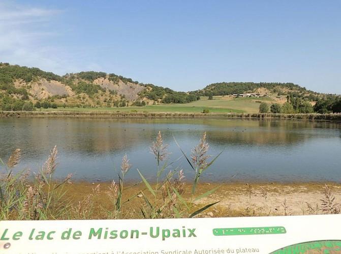 "Percorso escursionistico ""Tour du lac de Mison"""