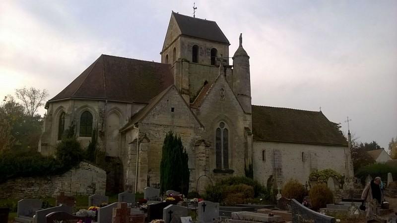 Gouzangrez - L'église