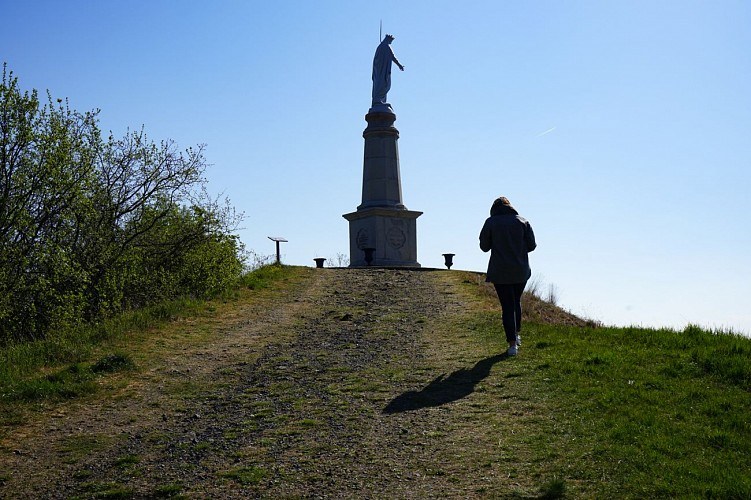 La Madone : circuit de petite randonnée