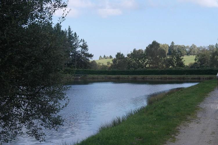 l' étang de Feniers