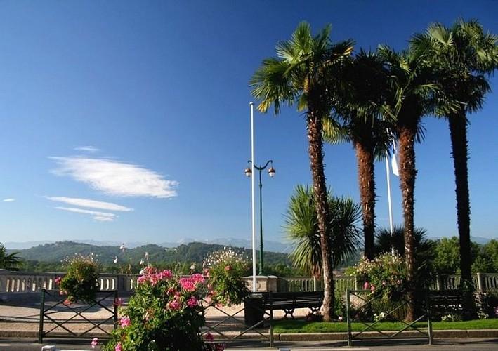 Balcon sur les Pyrénées