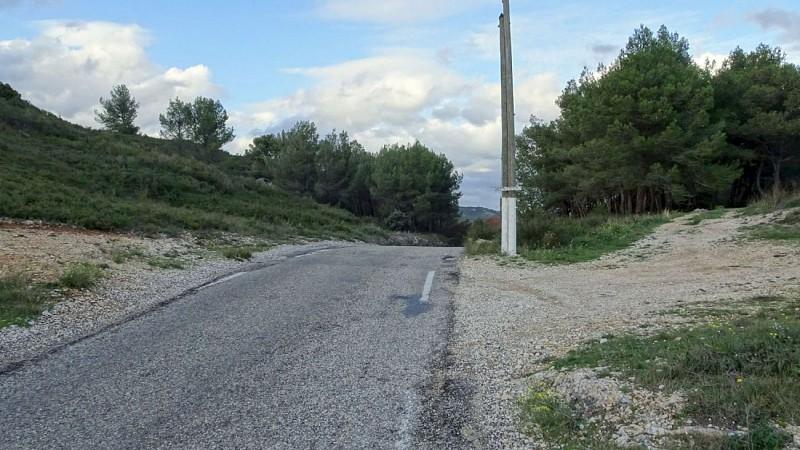 """le """"Col de Dève"""" sur la D126"""