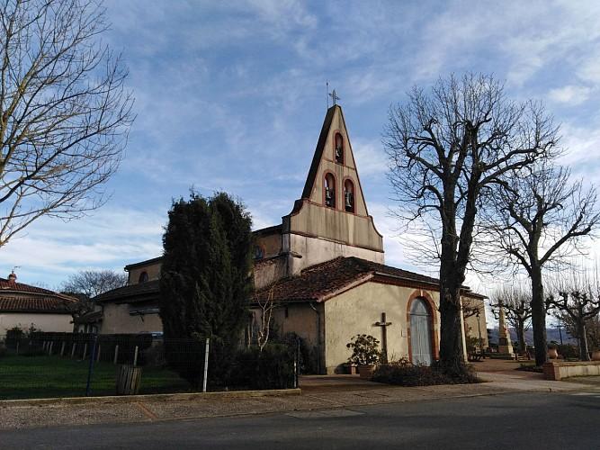 Montoussin Eglise