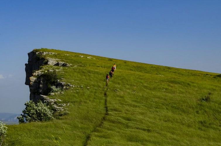 Itinéraire de rando Le Sommet de Chamouse