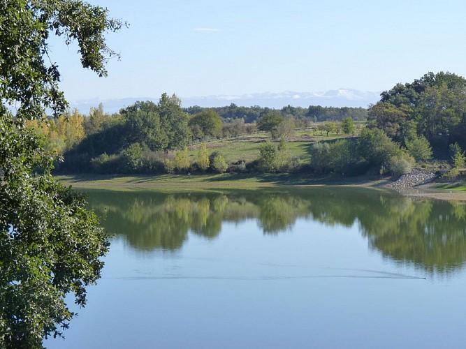 Lac de Poucharramet