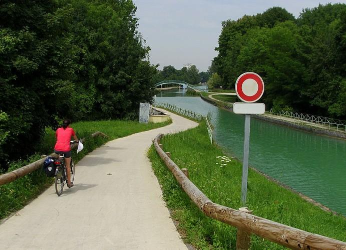 La voie verte de Châlons en Champagne